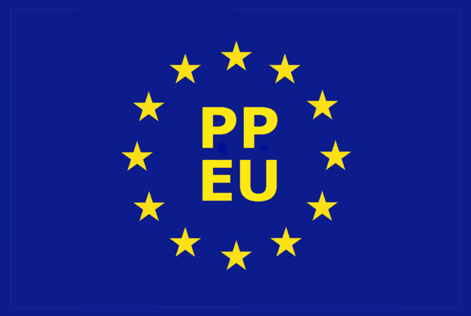 Das zweite Logokonzept für die Piratenpartei auf europäischer Ebene