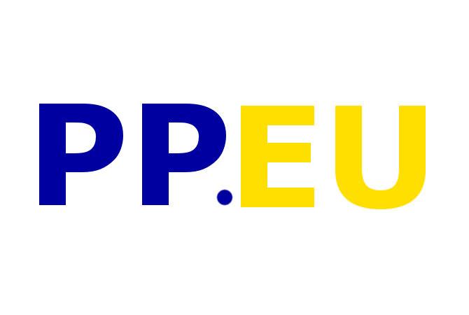 Das erste Logokonzept für die Piratenpartei auf europäischer Ebene