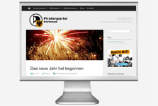 Webseitenbild Piraten Dortmund