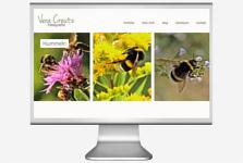 Webseitenbild Vera Creutz